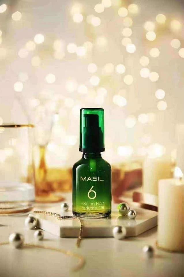 韓國沙龍級MASIL 6倍光感護髮香水精油