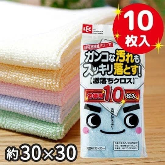 日本激落君·超極細纖維抹布10枚組