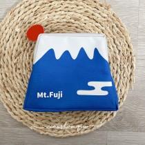 日本第一聖山富士山化粧文具旅行收納包