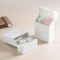 日本便利簡約攜帶隨身開蓋置物小盒二入組