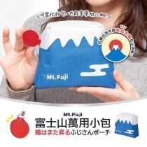 日本第一聖山富士山原形化粧文具收納包