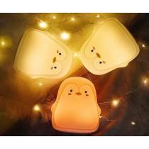 雪地寶寶企鵝拍拍小夜燈