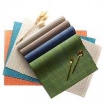 歐式編織紋防滑隔熱餐墊(2入一組)