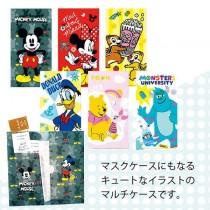 日本迪士尼口罩/文件三層收納夾三入組