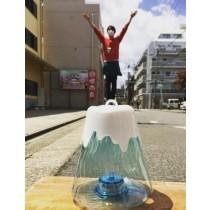 日本富士山造型發光塑膠水壺