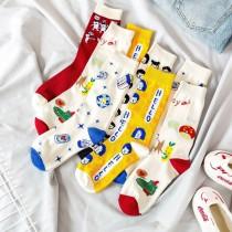 INS潮趣味個性襪子(5雙一組)