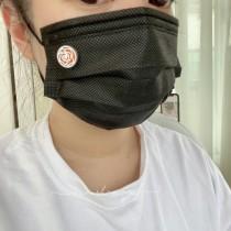 造型鈦鋼口罩薰香扣組「限定買1組再送1組補充棉片」