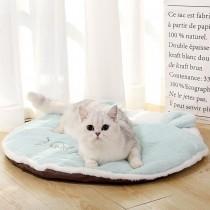 可愛小耳朵撞色寵物暖暖睡墊